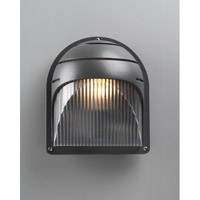 PLC Lighting 1842BZ113Q Delphi 1 Light 8 inch Bronze Outdoor Wall Light
