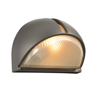 PLC Lighting Claret 1 Light Outdoor Wall in Bronze 1844-BZ