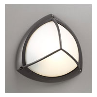PLC Lighting Canterbury Outdoor Wall Sconce in Bronze with Frost Glass 1846-BZ