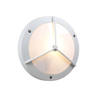 PLC Lighting Cassandra (I) 2 Light Outdoor Wall Light in White 1859WH213GU24