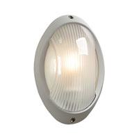 PLC Lighting Alonzo 1 Light Outdoor Wall Sconce in Silver 1866-SL