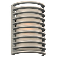 Sunset LED 11 inch Silver Outdoor Wall Sconce