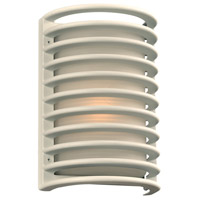 Sunset LED 11 inch White Outdoor Wall Sconce