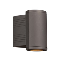 Lenox I LED 7 inch Bronze Outdoor Wall Light, Down Light