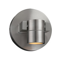 Lydon LED 6 inch Brushed Aluminum Outdoor Wall Light