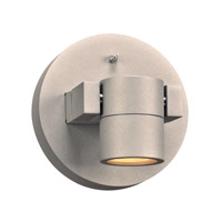 PLC Lighting 2070SL Lydon LED 6 inch Silver Outdoor Wall Light