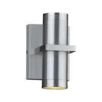 Boardwalk (I) LED 8 inch Brushed Aluminum Outdoor Wall Light