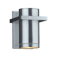 Boardwalk (II) LED 8 inch Brushed Aluminum Outdoor Wall Light