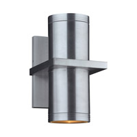 Boardwalk (III) LED 15 inch Brushed Aluminum Outdoor Wall Light