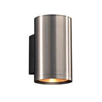 PLC Lighting 2092BA Marco LED 9 inch Brushed Aluminum Outdoor Wall Light Down Light