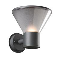 PLC Lighting 2107BZ113GU24 Nautica 1 Light 8 inch Bronze Outdoor Wall Light