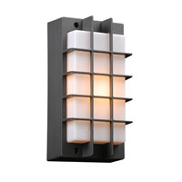PLC Lighting Lorca 1 Light Outdoor Wall Sconce in Bronze 2119-BZ photo thumbnail