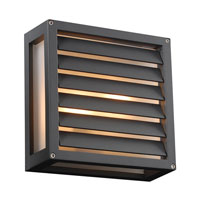 PLC Lighting Moritz 1 Light Outdoor Wall in Bronze 2246-BZ