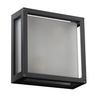PLC Lighting Mauviel 1 Light Outdoor Wall in Bronze 2248-BZ