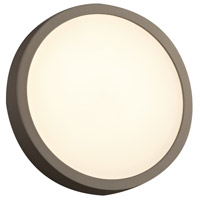 Olivia LED 10 inch Bronze Outdoor Wall Light