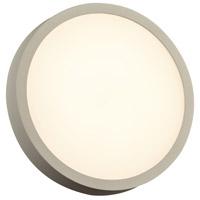 PLC Lighting 2256SL Olivia LED 10 inch Silver Outdoor Wall Light
