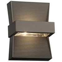 Fiona LED 7 inch Bronze Outdoor Wall Sconce