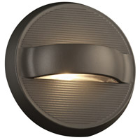 Taitu LED 7 inch Bronze Outdoor Wall Sconce