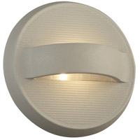 PLC Lighting 2262SL Taitu LED 7 inch Silver Outdoor Wall Light