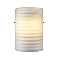 PLC Lighting Wilta 1 Light Wall Sconce in Opal 23159-OPAL