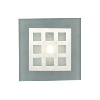 PLC Lighting Bali 1 Light Wall Sconce in Satin Nickel 2316-SN