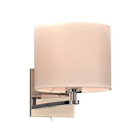 PLC Lighting Ashland 1 Light Wall Sconce in Polished Chrome 24218PC