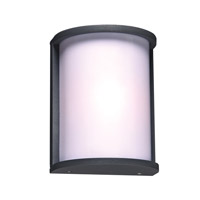 PLC Lighting 2706BZ Omni 1 Light 9 inch Bronze Outdoor Wall Light in Incandescent