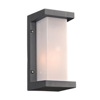 Boston 1 Light 12 inch Bronze Outdoor Wall Light in Incandescent