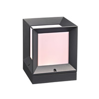 PLC Lighting Helmsley 1 Light Outdoor Wall Light in Bronze 2713BZ