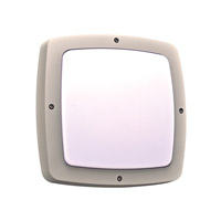PLC Lighting Clarendon (I) 2 Light Outdoor Wall Light in Silver 2720SL