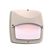 PLC Lighting Clarendon (II) 2 Light Outdoor Wall Light in Silver 2724SL