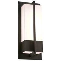 PLC Lighting 2904BK Brecon LED 16 inch Black Outdoor Wall Light Medium
