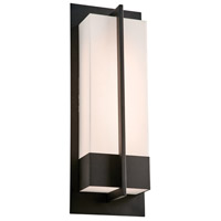 PLC Lighting 2906BK Brecon LED 20 inch Black Outdoor Wall Light, Large photo thumbnail