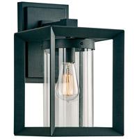 PLC Lighting 2913BK Sullivan 1 Light 14 inch Black Outdoor Wall Light Medium