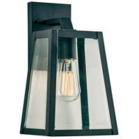 PLC Lighting 2920BK Park Avenue 1 Light 12 inch Black Outdoor Wall Light Small