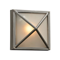 PLC Lighting Danza II 1 Light Outdoor Wall Sconce in Bronze 31705-BZ