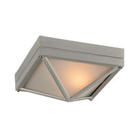 PLC Lighting 31705-SL Danza II 1 Light 8 inch Silver Outdoor Wall Sconce alternative photo thumbnail