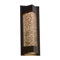 PLC Lighting 31710BZ Wedge LED 14 inch Bronze Exterior Wall Light