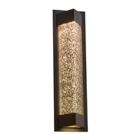 Bronze Wedge Outdoor Wall Lights