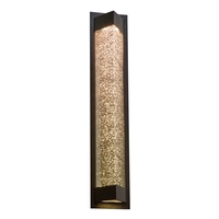 PLC Lighting 31714BZ Wedge LED 28 inch Bronze Exterior Wall Light