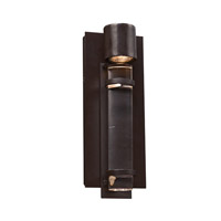 PLC Lighting Spencer 1 Light Outdoor Wall Light in Oil Rubbed Bronze 31724ORB