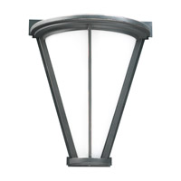 PLC Lighting Suenos Outdoor Wall Sconce in Oil Rubbed Bronze with Matte Opal Glass 31765-ORB