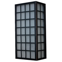 PLC Lighting 31772ORB Sam LED 12 inch Oil Rubbed Bronze Outdoor Wall Light