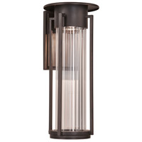 PLC Lighting 31784ORB Stilt LED 17 inch Oil Rubbed Bronze Exterior Wall Light Medium
