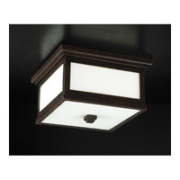PLC Lighting Monaco Outdoor Wall Sconce in Oil Rubbed Bronze with Matte Opal Glass 32019-ORB