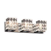 PLC Lighting Blour 3 Light Bath Light in Polished Chrome 32043PC