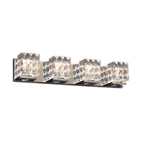 Blour 4 Light 28 inch Polished Chrome Bath Light Wall Light