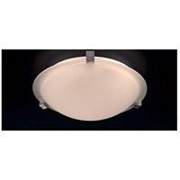PLC Lighting 3453IRLED Nuova LED 12 inch Natural Iron Flush Mount Ceiling Light
