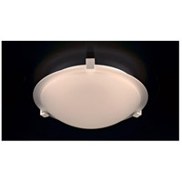 PLC Lighting 3453WHLED Nuova LED 12 inch White Flush Mount Ceiling Light