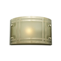 Oslo 1 Light 7 inch Polished Chrome Outdoor Wall Sconce